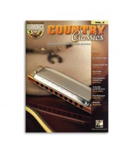 Libro Music Sales HL00001004 Harmonica Play Along Volume 5 Country Classics