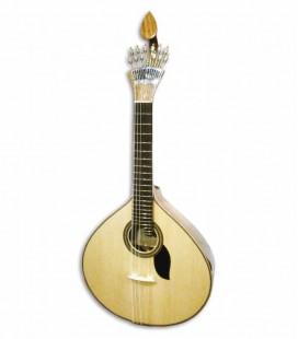 Guitarra Portuguesa Artimúsica 70075TP 2 Frisos Coimbra Tampo em Pinho
