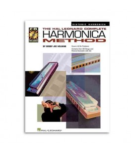 Livro Music Sales HL00841285 Complete Harmonica Method Diatonic Book CD