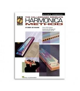 Music Sales Book Complete Harmonica Method Diatonic Book CD HL00841285