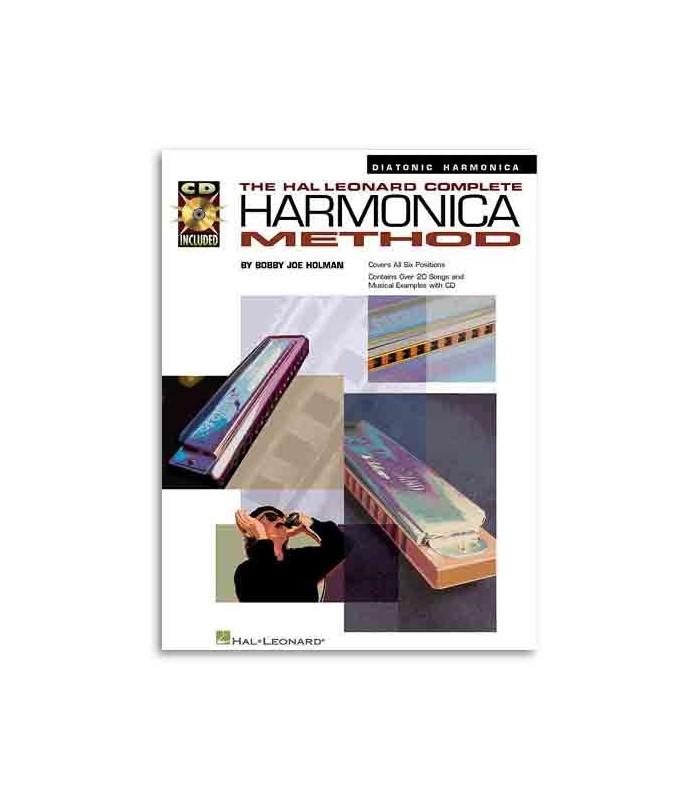 Livro Music Sales HL00841285 Complete Harmonica Method Diatonic Book CD