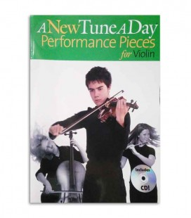 Libro A New Tune a Day for Violin Perform Book CD MUSBM11781