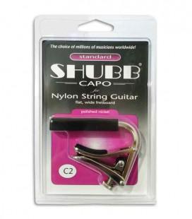 Cejilla Shubb C2 para Guitarra Clásica