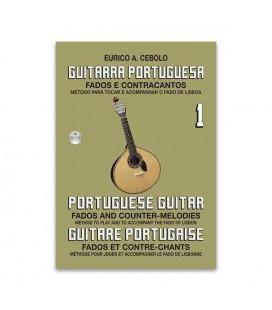 Libro Eurico Cebolo GP1 Método Guitarra Portuguesa 1 con CD
