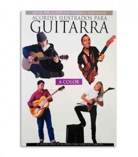 Livro Acordes Ilustrados para Guitarra HL14001076