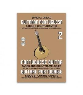 Eurico Cebolo Book Method Portuguese Guitar 2 with CD GP2