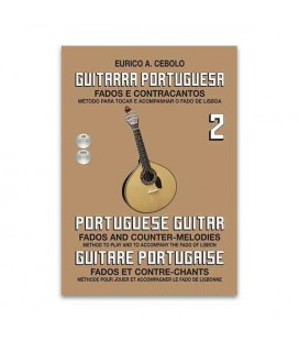 Libro Eurico Cebolo GP2 Método Guitarra Portuguesa 2 con CD