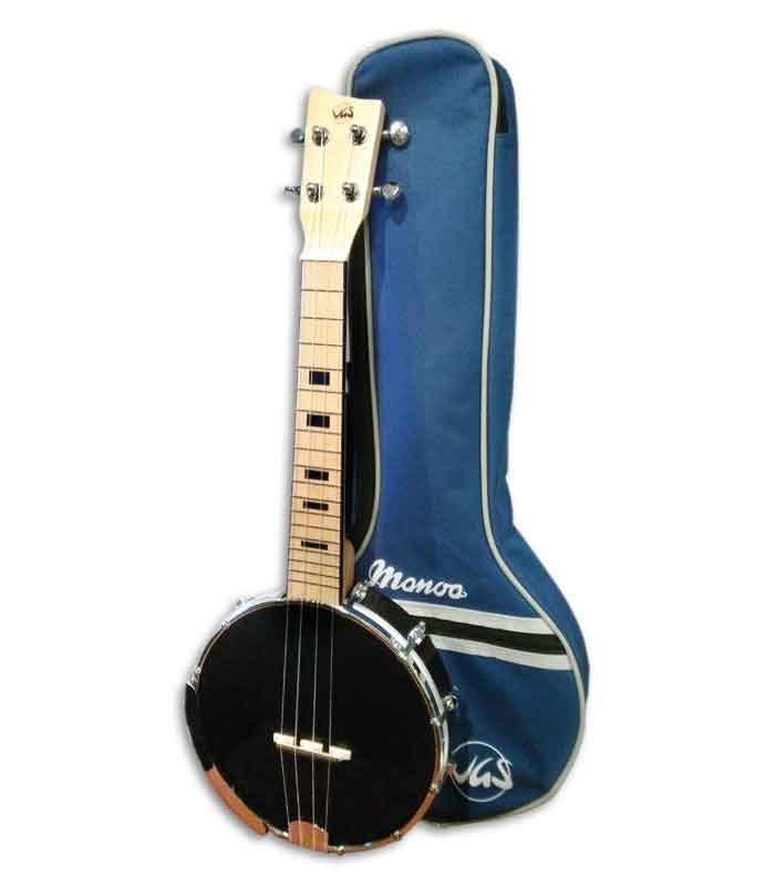Ukelele Banjo Concierto VGS Manoa B-CO-A con Funda