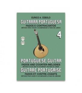 Libro Eurico Cebolo GP4 Método Guitarra Portuguesa con CD