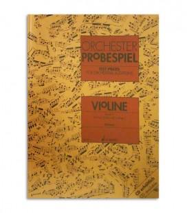 Libro Orchester Probespiel para Violín Volume 2 ED7851