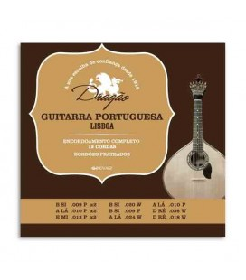 Dragão Portuguese Guitar String Set 003 12 Strings Lisboa Tuning