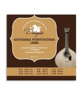 Jogo de Cordas Dragão 003 para Guitarra Portuguesa 12 Cordas Afinação Lisboa