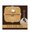 Dragão Portuguese Guitar String Set 003 12 Strings Lisboa Tuning