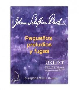 Livro Bach Pequenos Prelúdios e Fugas EMC341252