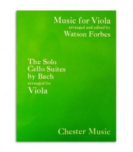 Livro Bach Suites Originales de Cello para Viola de Arco CH01401