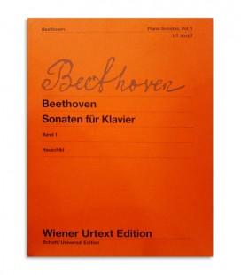 Livro Beethoven Piano Sonatas Vol 1 UT50107