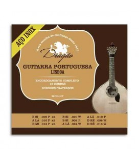 String Set Dragão 073 Portuguese Guitar Lisbon Tuning Stainless Steel