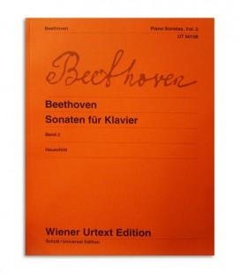 Livro Beethoven Piano Sonatas Vol 2 UT50108