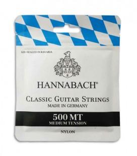 Hannabach Classical Guitar String Set 500MT Medium Tension