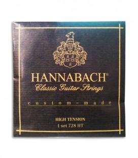 Juego de Cuerdas Hannabach E728HT para Guitarra Clásica Alta Tensión
