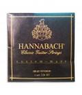 Jogo de Cordas Hannabach E728HT para Guitarra Clássica Alta Tensão