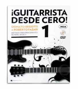 Book Método Begotti e Fazari Guitarrista Desde Cero with DVD MB602