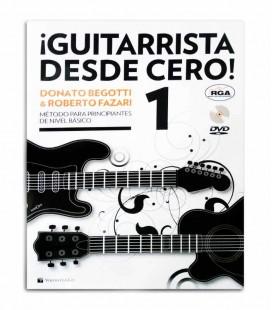 Libro Método Begotti y Fazari Guitarrista Desde Cero con DVD MB602