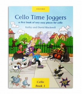 Livro Blackwell Cello Time Joggers Book 1 com CD OXF32270