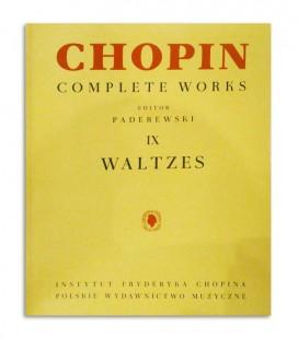 Back cover of book Chopin Nocturnes Paderewski
