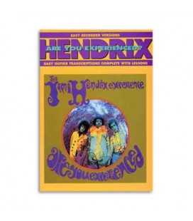 Libro Music Sales AM91386 Jimi Hendrix are you experienced