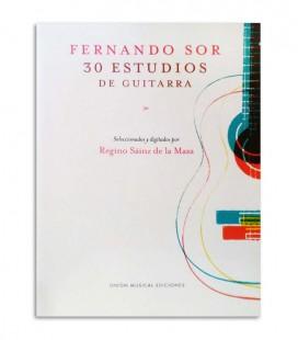 Livro Fernando Sor 30 Estudos de Guitarra UMG19524
