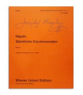 Livro Haydn The Complete Piano Sonatas Vol 1 UT60266
