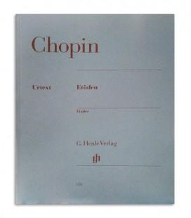Livro Chopin Etüden Opus 10 and 25 HN124