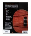 Back cover of book Hal Leonard Método para Ukulele Volume 1