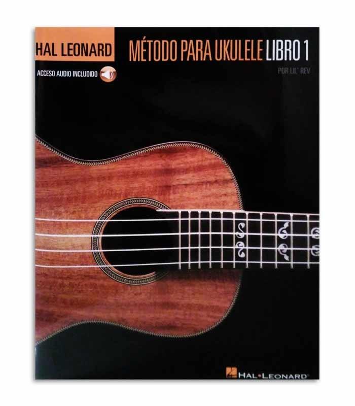 Capa do livro Hal Leonard Método para Ukulele Volume 1