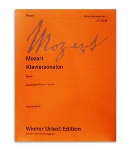 Libro Mozart Piano Sonatas Vol 1 UT50226
