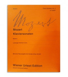Livro Mozart Piano Sonatas Vol 2 UT50227