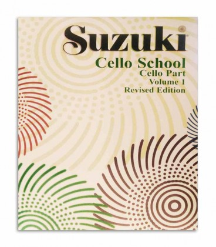 Capa do livro Suzuki Cello School Vol 1 EN MB41