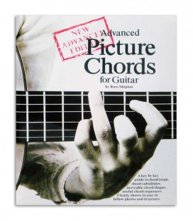 Book Advanced Picture Chords for Guitar AM25040