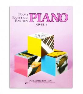 Libro Bastien Piano Nível 1 WP201E