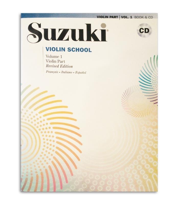Livro Suzuki Violin School Vol 1 FR IT ES MB296