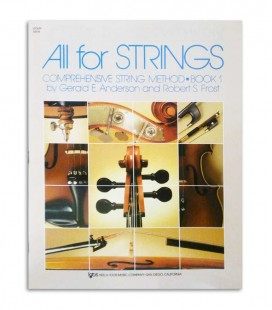 Livro Anderson and Frost All For Strings Violin Vol 1