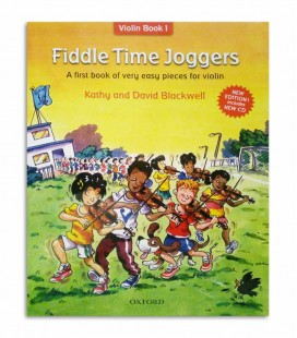 Libro Blackwell Fiddle Time Joggers Book 1 con CD OXF32281