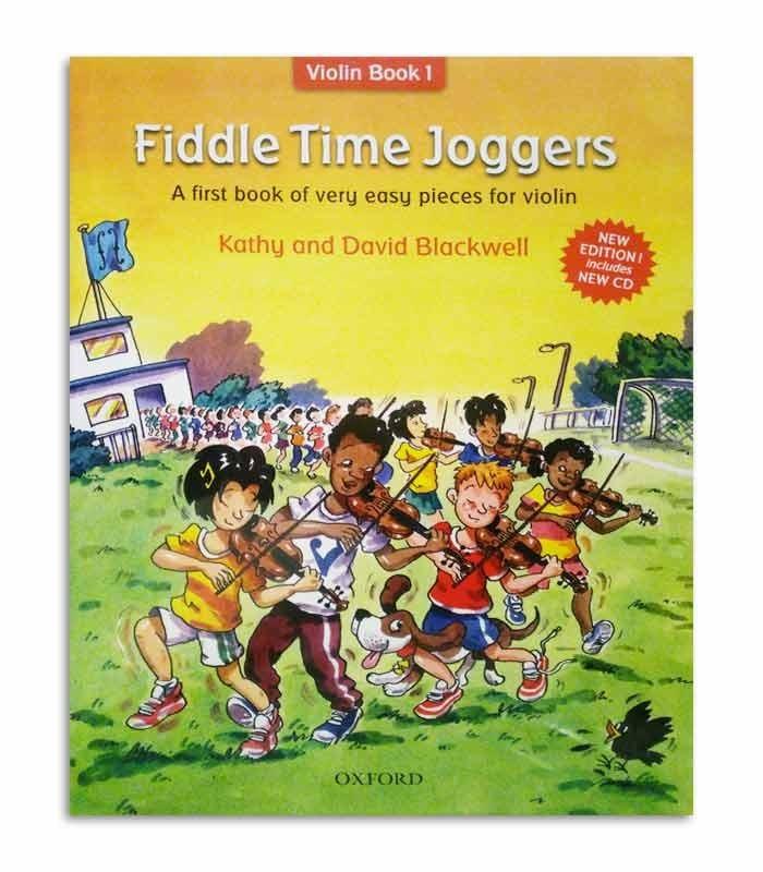 Capa do livro Blackwell Fiddle Time Joggers Book 1 OXF32281