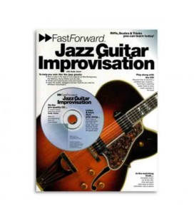 Livro Music Sales AM953271 Fast  Forward Jazz Guitar Improvisation