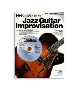 Music Sales Book AM953271 Fast Forward Jazz Guitar Improvisation
