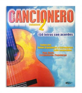 Book El Cancionero Letras y Acordes Vol 2 ML2379