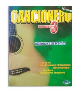 Book El Cancionero Letras y Acordes Vol 3 ML2717