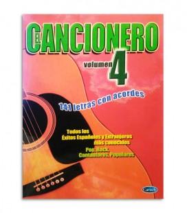 Libro El Cancionero Letras y Acordes Vol 4 ML2886