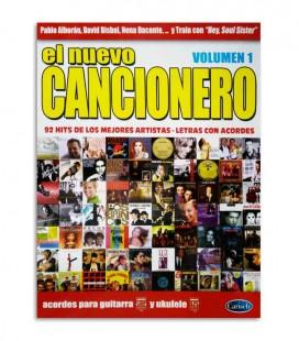 Libro Album El Nuevo Cancionero 92 Hits Acordes Guitarra y Ukulele Vol1 ML3674